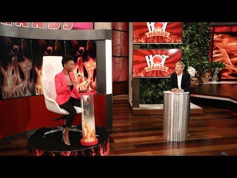 Samira Wiley Shows Off Her 'Hot Hands'