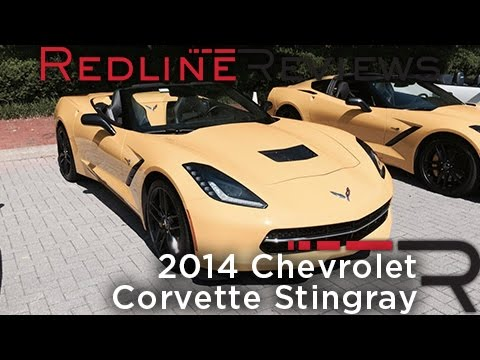 2014 Chevrolet Corvette Stingray – Redline: First Drive