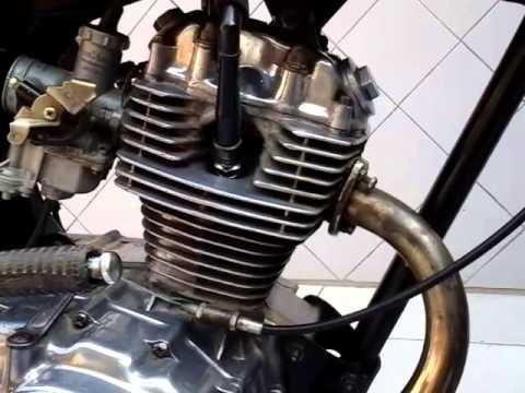 Video modifikasi motor cb 100