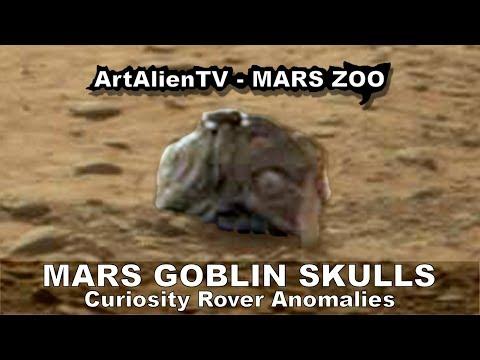 Mars Ancient Alien Goblin Skulls: NASA Curiosity Rover Anomalies: MARS ZOO 2014. ArtAlienTV 1080p