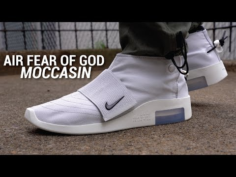 Is This the Worst FOG X Nike Sneaker? Nike Air Fear of God Moccasin Review