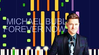 """Michael Bublé   FOREVER NOW (PRO MIDI REMAKE  CHORDS)   """"in The Style Of"""""""