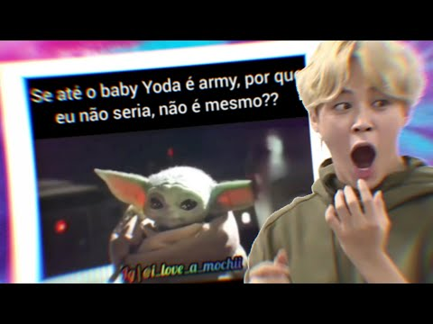 O BABY YODA É ARMY?! – BTS MEMES BR #26