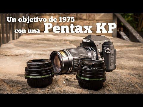 Un objetivo de los 70 con una Pentax KP