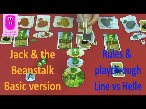 Basic rules, playthrough & our impression of Jack & the Beanstalk