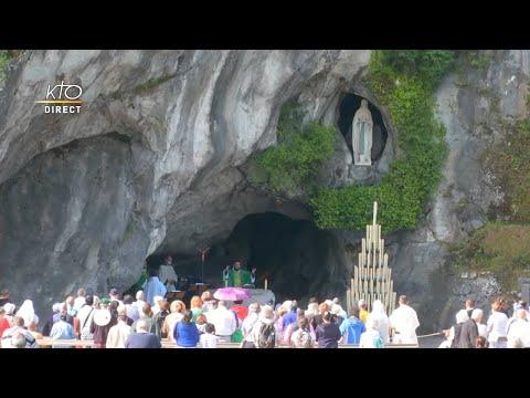 Messe de 10h à Lourdes du 19 juin 2021