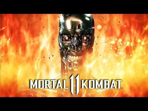Mortal Kombat 11 – Official Terminator T-800 Gameplay Trailer