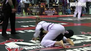 Gillian Silver vs Tara Dixon • NAGA World Championship 04 25 15 • Female Purple Gi Grappling