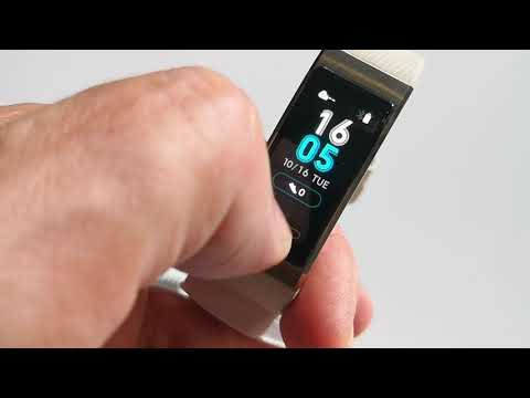 Huawei Band 3 Pro with GPS and heartrate