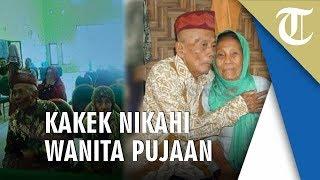Kakek 92 Tahun Nikahi Wanita Pujaannya yang Berusia 79 Tahun