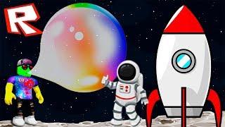 УЛЕТЕЛ В КОСМОС НА ОГРОМНОМ ПУЗЫРЕ! Симулятор ЖВАЧКИ в Роблокс Bubble Gum Simulator