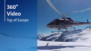 "360° Virtual Reality Experience - TAG Heuer ""Let's Rock on the Top of Europe"""