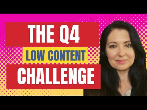 KDP Low Content Books Challenge for Q4 - Enter the challenge and win a children's book course!