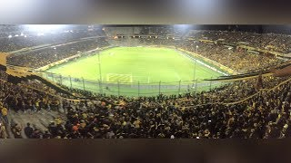 Entrada De Los Bombos + Hinchada (Peñarol Vs Liga De Quito) #COPALIBERTADORES2019