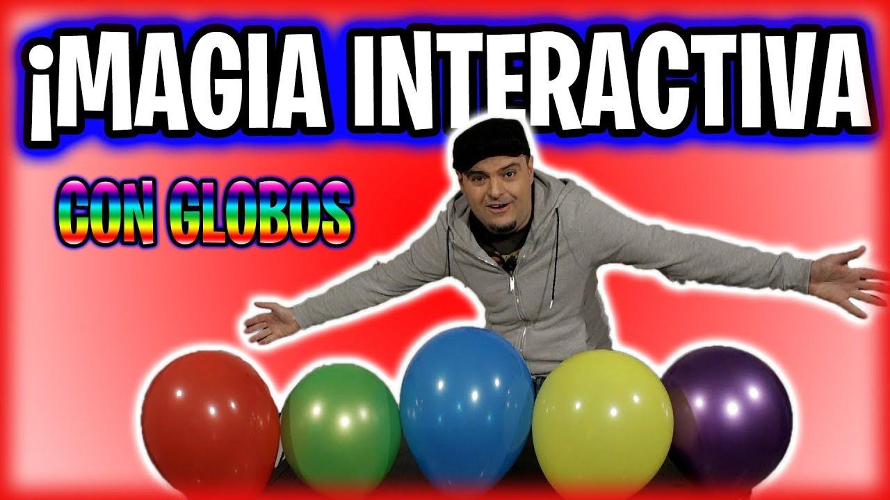 ESPECIAL JUEGO INTERACTIVO CON GLOBOS