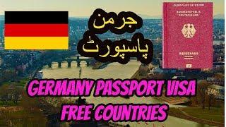 Germany Passport visa free Countries  | German Passport Requirements--   German passport