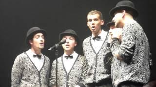 """Stromae """"Tous Les Mêmes"""" (a cappella) @ Zénith de Paris (8-04-14)"""