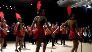 preview picture of video 'Carnaval Chalon sur Saône Mambo No 5'