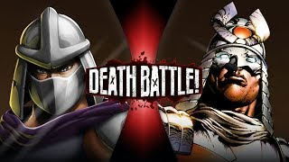 Shredder VS Silver Samurai (Ninja Turtles VS Marvel)   DEATH BATTLE!
