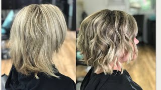 HOW TO DO A PANEL LOWLIGHT TO BREAK UP BLONDE   2018