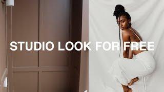 Photography Studio Look For Free | DIY Photography Studio