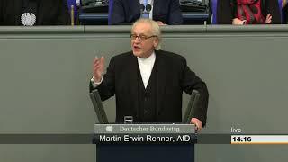 Renner: Multikulti in Wahrheit burka-schwarz! - AfD-Fraktion im Bundestag