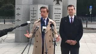 Krzysztof Bosak (Konfederacja) o głosowaniu korespondencyjnym i dzisiejszym posiedzeniu Sejmu