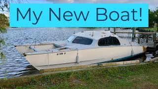I just bought a CHEAP catamaran SAILBOAT and prepare to move it up the ICW with NO EXPERIENCE - 3