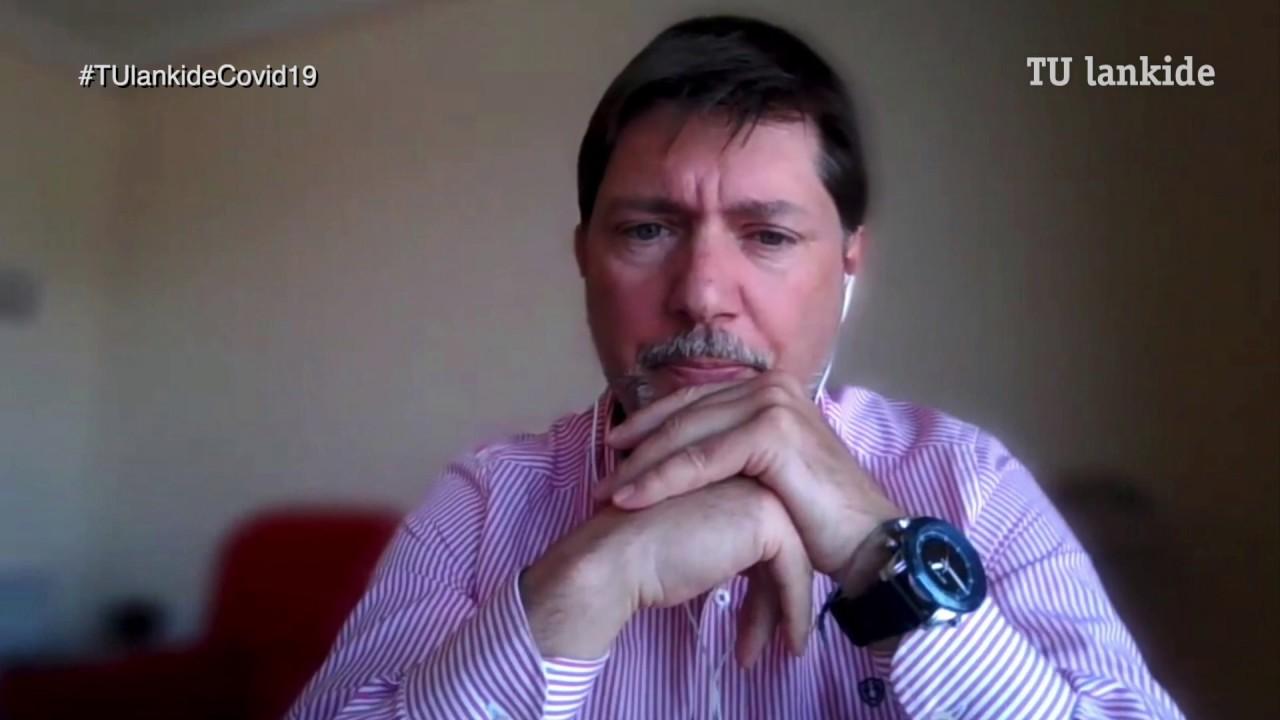 """""""Nos estamos centrando en la desinfección de espacios ligados al transporte y la salud: Metro Madrid, Hospital de Cruces..."""" Ramon Castelo, director de Servicios de Calidad de aire interior en Ondoan."""