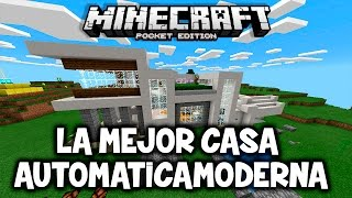 Como hacer una casa moderna en minecraft pe free video for Casa moderna minecraft 0 12 1