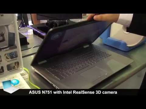 ASUS N751 with Intel Realsense 3D camera