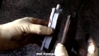 Replacing Front Brake Pads On Opel and Vauxhall Astra 2011 model