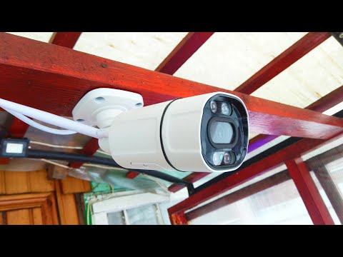 Wifi камера видеонаблюдения 5MP с обнаружением человека / 5MP Wifi CCTV Camera with Human Detection