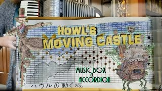 Gambar cover Howl's Moving Castle MUSIC BOX & Accordion (Merry Go Round of Life)