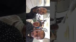 Int'air Îles : témoignages à bord de l'A320 sur La liaison Moroni/Majunga/Antananarivo /Moroni: tém