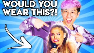 Can You Guess The Price Of These WEIRD ARIANA GRANDE Products!? (Zero Budget GAME)