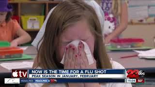 Kern County Public Health says get your flu shot
