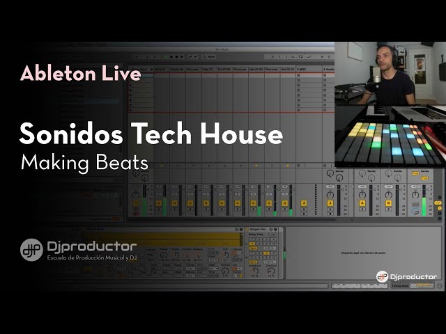 Making Beats: Ultimate Tech House Sounds Pack (Tutorial en español Ableton Live, Push)