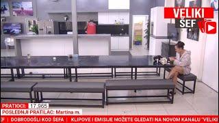 ZADRUGA UZIVO   DOBRO JUTRO   VELIKI SEF 👨⚖️   LIVE 24/7