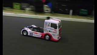 Tamiya Team Hahn Racing MAN TGS Euro Truck on Track! - Netcruzer RC