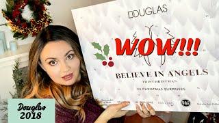 🌟 WIELKI KALENDARZ ADWENTOWY DOUGLAS 2018 - Unboxing /Otwieramy! WOW