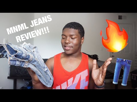 Mnml M1 Stretch Denim Blue Jeans Review