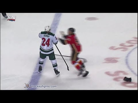 Mathew Dumba vs Ryan Lomberg