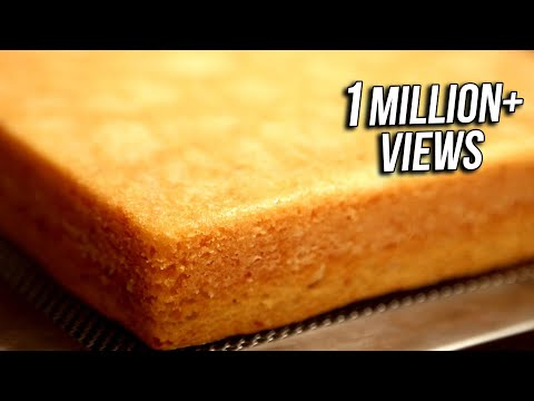 Video Basic Eggless Cake | Quick & Easy Dessert Recipe | Divine Taste With Anushruti