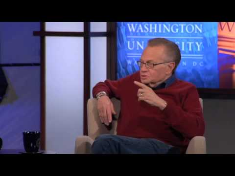 Larry King - What I Love About Live TV (3 of 7)