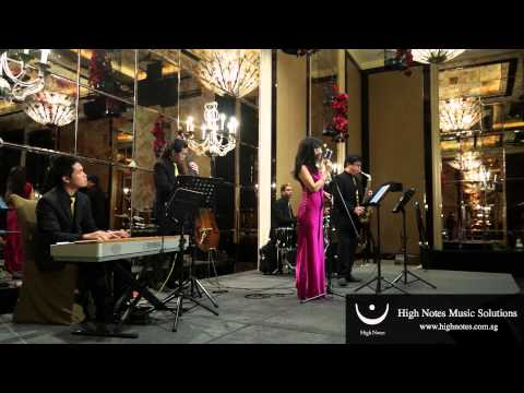Imelda Teo Performs 我只在乎你 Wo Zhi Zai Hu Ni With The Shanghai Swingers