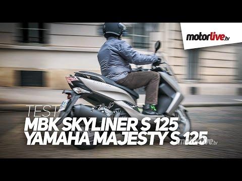 TEST   MBK 125 SKYLINER S 2014 – Le Majesty est de retour !