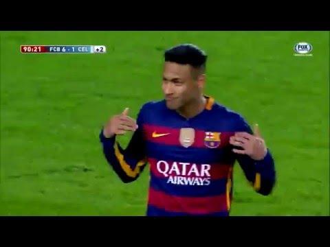 Barcelona 6 x1 Celta de Vigo