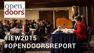 Open Doors 2015 - Remarks from Assistant Secretary Evan Ryan