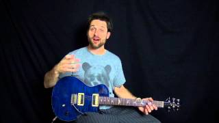 Chord Scales Part 1